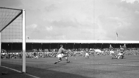 In October 1964, Town drew 4-4 with Rotherham United at Portman Road