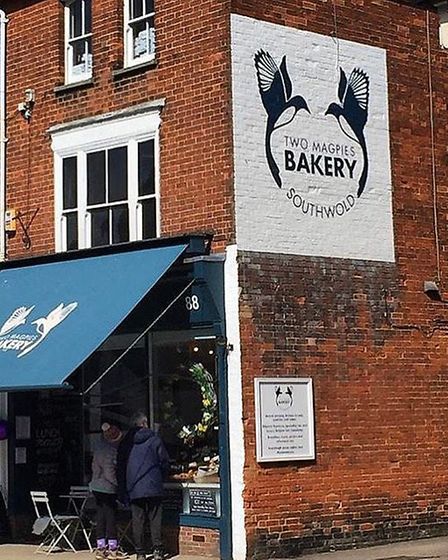 Two Magpies bakery, Southwold Picture: TWO MAGPIES