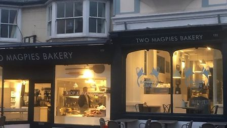 Two Magpies bakery, Aldeburgh Picture: TWO MAGPIES