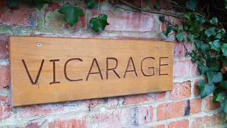 The vicarage in Westleton could become the site of a new housing project Picture: RACHEL EDGE