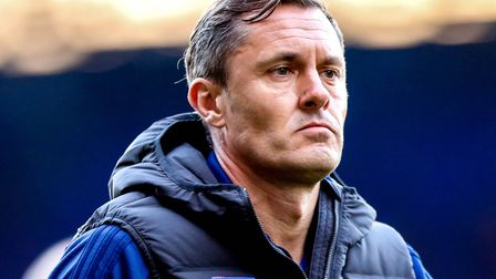 Paul Hurst was sacked by Ipswich Town in October. Picture: STEVE WALLER WWW.STEPHENWALLER.COM