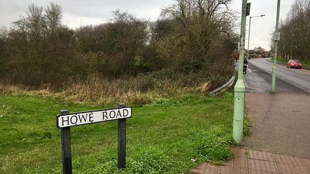Howe Road, Haverhill, where the stabbing took place Picture: MICHAEL STEWARD