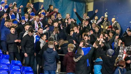 Close to 100 Fortuna D�sseldorf fans will be supporting Ipswich Town at Portman Road tomorrow. Photo