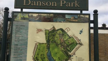 Danson Park, the home of the Bexley parkrun. Picture: CARL MARSTON