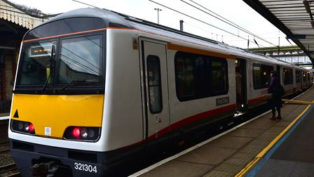 Some of Greater Anglia's Class 321 units were refurbished two years ago. Picture: SARAH LUCY BROWN