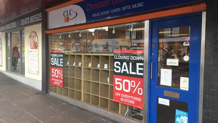 The Christian Literature Crusade (CLC) bookshop in Ipswich will close at the end of January Picture: