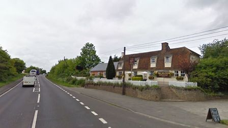 The emergency roadworks caused widespread traffic including past The Dolphin pub Picture: GOOGLE MAP
