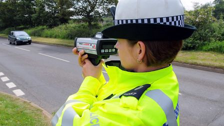 Suffolk police will be holding a crackdown on speeding. Picture: ARCHANT LIBRARY