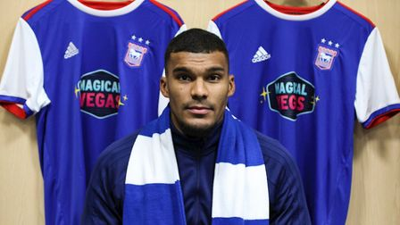 Ipswich Town have signed forward Collin Quaner from Huddersfield on loan until the end of the season
