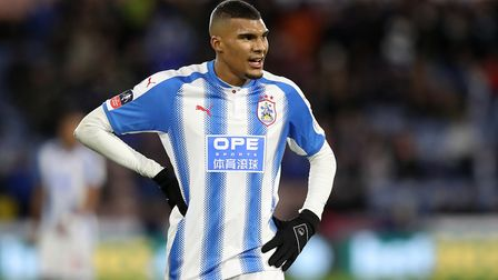 Striker Collin Quaner helped Huddersfield to promotion to the Premier League. Picture: PA SPORT