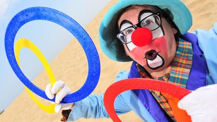Andy the Clown is to become president of the World Clown Association. Picture: NICK BUTCHER