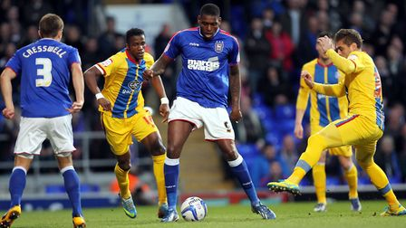 Emmanuel-Thomas made 75 appearances during his time with Ipswich.
