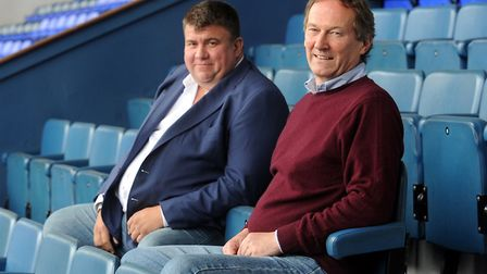 Ian Milne (right) was initially a joint MD alongside Jonathan Symonds (left). Photo: Archant