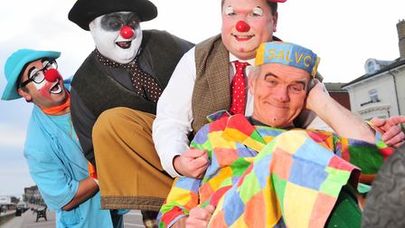 Lowestoft has hosted the Clown Gathering UK convention since 2015 - but will take a break in 2019. P