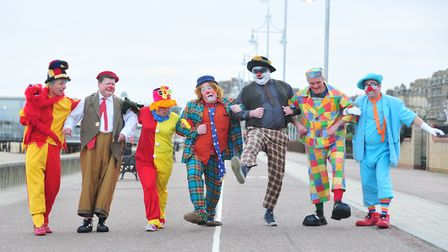 Lowestoft will take a break from hosting the Clown Gathering UK convention in 2019. Picture: NICK BU
