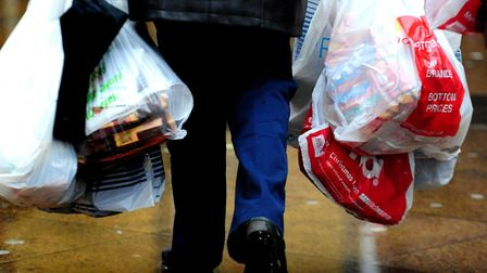 We still purchase nearly 2 billion plastic bags each year Pic: Rui Vieira/PA Wire