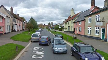 The incident happened in the Castle Rise/Old Street area of Haughley, near Stowmarket Picture: GOOGL