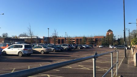 The Arc surface car park, which is managed by St Edmundsbury Borough Council Picture: MARIAM GHAEMI