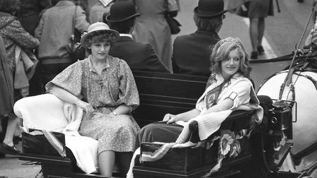 Framlingham Gala in 1979 Picture: ARCHANT