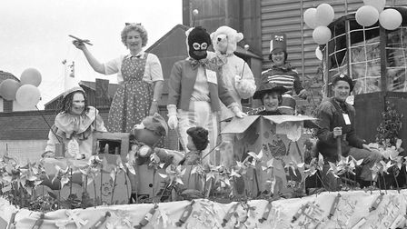 Colourful characters in the parade Picture: ARCHANT