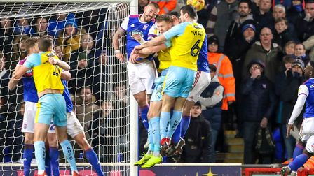 Town stood firm in the face of serious pressure from Rotherham at the end of the game - something th