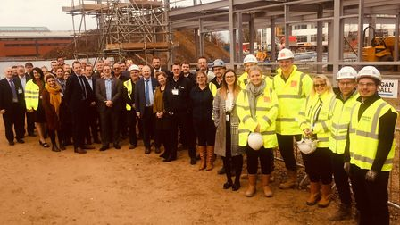 Launch of the new training programmes at the new build at East Coast College (Lowestoft campus) Pict