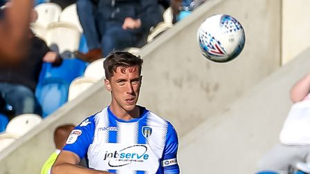 Luke Prosser, who is targeting the top three ahead of this weekend's home match against Mansfield. P