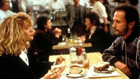 That scene in When Harry Met Sally, starring Billy Crystal and Meg Ryan, Photo: Columbia Tri-Star