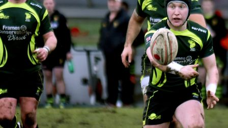 Will Affleck, who will play at fly-half for Bury St Edmunds against leaders Rams today. Picture: AND