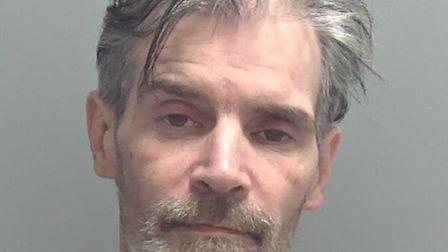Mark Taylor, of no fixed abode, has been jailed following a burglary in Lowestoft last year. Picture