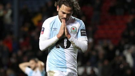 Bradley Dack has scored 13 goals from midfield for Blackburn Rovers this season. Photo: PA