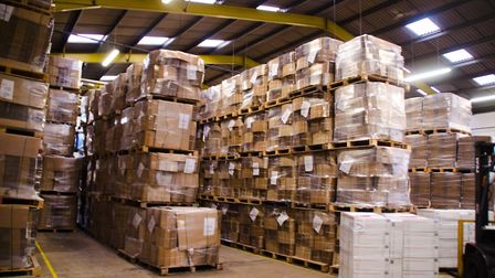 Newmarket-based Caps Cases is a market leader in corrugated cardboard packaging Picture: CAPS CASES