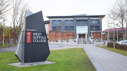 West Suffolk College will deliver one of the schemes to tackle youth unemployment. Picture: GREGG BR