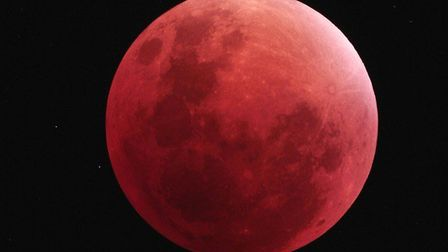 A lunar eclipse is due to take place on Monday, January 21. Picture: DAVID MURTON/DARSHAM ASTRONOMIC