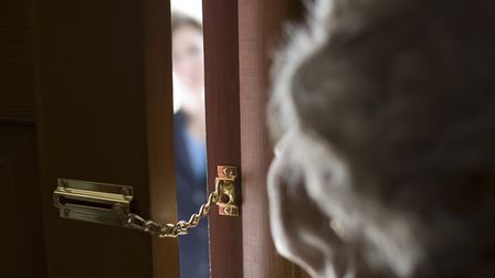 People are being told to challenge unknown visitors after a series of distraction burglaries in Suff