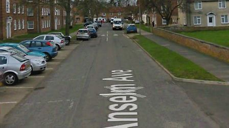 Police swooped on an address in Anselm Avenue, Bury St Edmunds Picture: GOOGLE MAPS