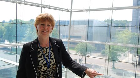 Judith Mobbs, assistant director of skills at Suffolk County Council Picture: ARCHANT