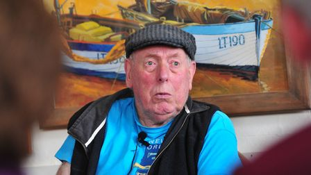 Former Southwold councillor, harbour master and fisherman John 'Dusso' Winter. Picture: NICK BUTCHER