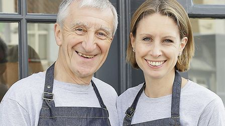 Father-daughter duo John Ormerod and Clare Jackson launched the cheese shop Slate in 2017 Picture: N