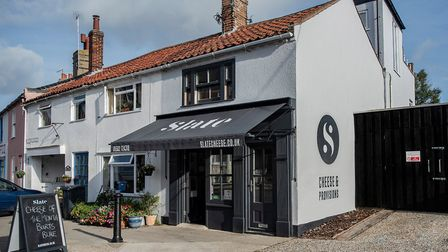The Slate shop in Southwold Picture: EMMA KINDRED
