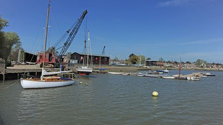 Woodbridge Boat Yard is for sale. Picture: ARCHANT LIBRARY