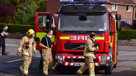 Nine fire crews from Essex are at the burning cottage in Ardleigh, close to the A12 at Colchester Pi