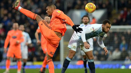 A high-kicking Collin Quaner loses out at Blackburn Picture Pagepix