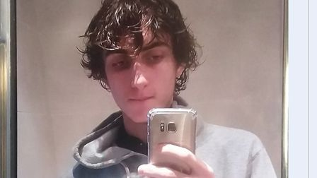 Jake Nichols, who has gone missing in Bury St Edmunds. Picture: COURTESY OF SUFFOLK CONSTABULARY