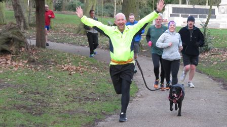It was smiles all round at Saturday's Ipswich parkrun. Picture: IPSWICH PARKRUN FACEBOK PAGE
