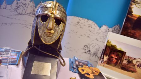 The Sutton Hoo roadshow at the Leiston East of England Co-op. Picture: JAMIE HONEYWOOD