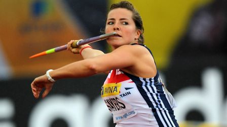 Goldie Sayers was an 11-time British champion in javelin. Picture: PA