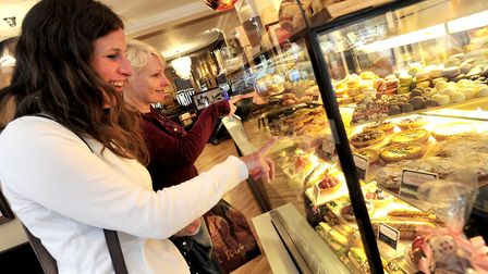 Patisserie Valerie Picture: LUCY TAYLOR