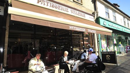 The Patisserie Valerie store in Ipswich Picture: LUCY TAYLOR