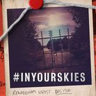 Poster for In Your Skies by Mark Finbow which looks at East Anglia's UFO story Photo: Keeper's Daug